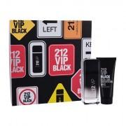 Carolina Herrera 212 VIP Men Black confezione regalo Eau de Parfum 100 ml + doccia gel 100 ml Uomo