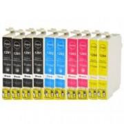 Pack de 10 cartuchos compatibles para Epson T1291/T1292/T1293/T1294