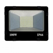 HFK 100 Watt Ultra Thin Slim Ip66 LED Flood Outdoor Light Cool White Waterproof- 100W Pack of 1 with 6 months warranty
