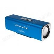 LOGILINK Enceinte portable Discolady Logilink avec MP3 et radio FM inclus (SP0038B) - Bleu