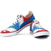 Puma Limnos Flare Sneakers For Men(Grey, Red, Blue)