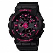 Reloj de pulsera para mujer casio baby-g BA-111-1A - negro + rosa