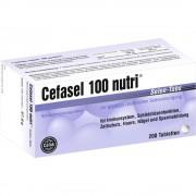 Cefak KG Cefasel 100 nutri Selen-Tabs 200 St