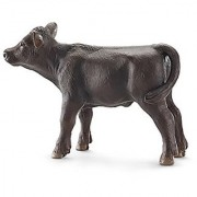 Schleich Black Angus Calf Toy Figure