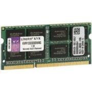 Kingston Memoria RAM Kingston 8 GB Ordenador portátil, 1333MHz, KVR1333D3S9/8G