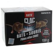 PROTECTA RATU'CLAC Pâte Souris - Rats Formule renforcée 150 g