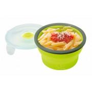 Összenyomható BPA mentes ételtároló doboz 540ml