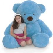 stuffed toy 5 Feet Cute Blue Fur Teddy Bear