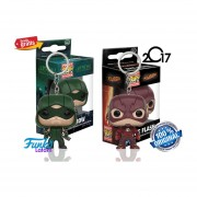 Llavero The Flash Y Arrow Peliculas Funko Pop Marvel