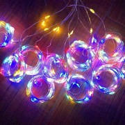 3M x 3M 300-LED Fairy String Lights Christmas Wedding Garden Decoration - Multi-color