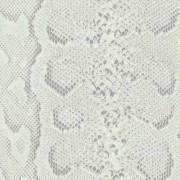 Ezüstös fehér kígyóbőr mintás öntapadós tapéta