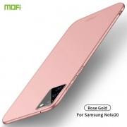 Frostat mobilskal till Samsung Galaxy Note20 Rosa
