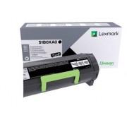 Lexmark Tonercartridge Lexmark 51B0XA0 Zwart EHC