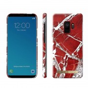 iDeal Of Sweden Fashion Case Galaxy S9 Scarlet Red Marble Galaxy S9 Skal