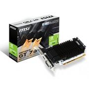MSI GT 710 1GD3H LP NVIDIA GeForce GT 710 PCI Express 2.0 1 GB grafische kaart, meerkleurig