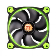 FAN, Thermaltake Riing 140mm, 1500rpm, LED, Green (F039-GR)