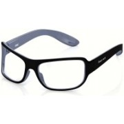 Fastrack Wrap-around Sunglasses(Clear)
