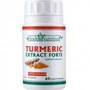 Turmeric Extract Forte 60cps Health Nutrition