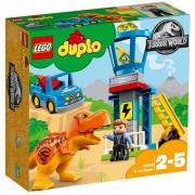 Set de constructie LEGO Duplo Turnul T Rex