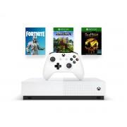 Microsoft Xbox One S 1 TB All Digital Edition (2st spel & Fortnite Cosmetic)