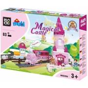 Joc constructie Mubi, Castelul magic, 83 piese Blocki