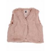 Gymp Baby! Meisjes Gilet - Maat 50 - Roze - Katoen/polyester/elasthan