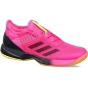 ADIDAS ADIZERO UBERSONIC 3 W Tennis Shoes For Women(Pink)