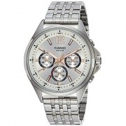 Casio Enticer Analog White Dial Mens Watch - Mtp-E303D-7Avdf( A958)