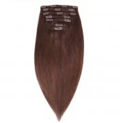 Rapunzel® Extensions Naturali Kit Clip-on Original 7 pezzi 2.2 Coffee Brown 50 cm