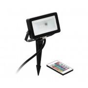 Eglo 98185 - Proiector LED RGB FAEDO 4 LED/10W/230V + telecomandă