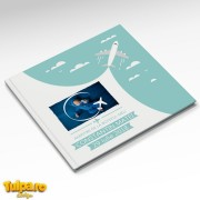 Carte de amintiri pentru botez cu tema Călătorie