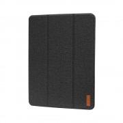 Husa iPad (5th gen / 6th gen) 9.7 inch Devia Flax Flip Black (pencil slot)