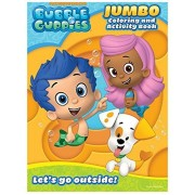 """Bubble Guppies Educational Coloring and Activity Book ~ Lets Go Outside! (64 Pages; 7.75"""" x 10.75"""")"""