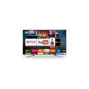 Smart TV SONY 55 LED Ultra HD 4K Android TV X-tended Dynamic Range Triluminos 4K X-Reality Pro XBR-55X905F