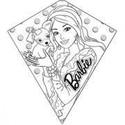 X Kites Barbie Color-Me-Kite - 26 Inches Tall