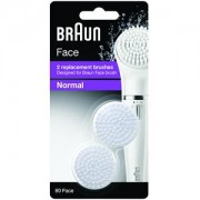 Pack of 2 Silk Face Brush Refills SE80