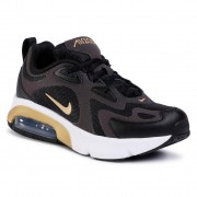 Обувки NIKE - Air Max 200 (GS) AT5627 003 Black/Metallic Gold/Anthracite