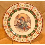 Faiencerie Niderviller Assiette dessert Saint Petersbourg