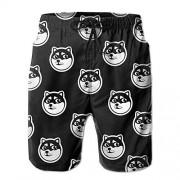 Game Life Pantalones Cortos Husky para Hombre, de Secado rápido, bañadores de Playa, con Forro de Malla, Blanco, Medium