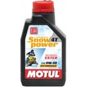 MOTUL SnowPower 4T 0W40 1 litru