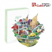 Puzzle 3D City Scape New York, 55 piese