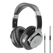 Motorola Pulse MAX Auricular para móvil Binaural Head-Band Black Wired Auriculares (Wired, Head-Band, Binaural, Circumaural, 20-23000 Hz, Black)