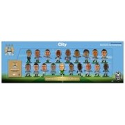 Set Figurine Soccerstarz Man City Premier League Winners 19Pcs Team Pack