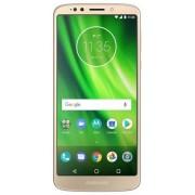 "Telefon Mobil Motorola Moto G6 Play, Procesor Octa-Core 1.4GHz, IPS LCD Capacitive touchscreen 5.7"", 3GB RAM, 32GB Flash, 13MP, Wi-Fi, 4G, Dual Sim, Android (Auriu) + Cartela SIM Orange PrePay, 6 euro credit, 6 GB internet 4G, 2,000 minute nationale si in"