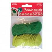 Pasla autoadeziva foaie verde Daco art AD024