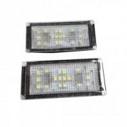 Lampi LED numar compatibile BMW Seria 7 E66
