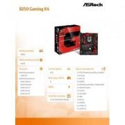 ASRock B250 Gaming K4 s1151 B250 4DDR4 USB3.0/3xM.2 ATX