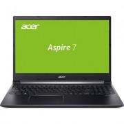 "Лаптоп Acer Aspire 7 A715-74G-753C - 15.6"" FHD, Intel Core i7-9750H"
