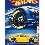 HOT WHEELS Hot Wheels porsche carrera GT Porsche Carrera GT Yellow # 8