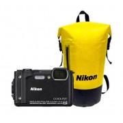 Nikon Coolpix W300 Holiday kit Zwart
